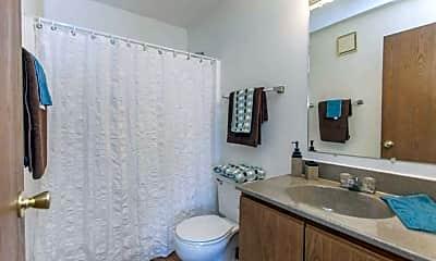 Bathroom, Sutton Hill Apartments, 2