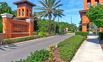 Community Signage, The Courtney at Bay Pines, 2