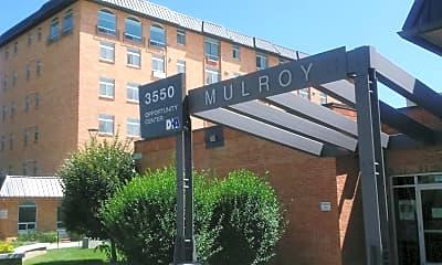 John R. Mulroy Apartments, 1