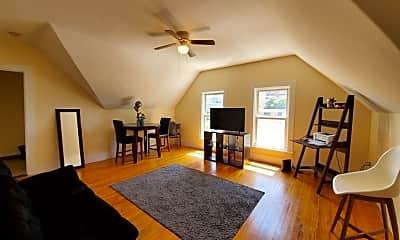 Living Room, 14 Sever St 3, 0