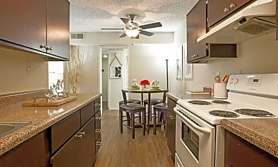 Kitchen, North Mountain Apartments, 0