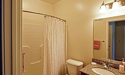 Bathroom, Valor Apartments, 2