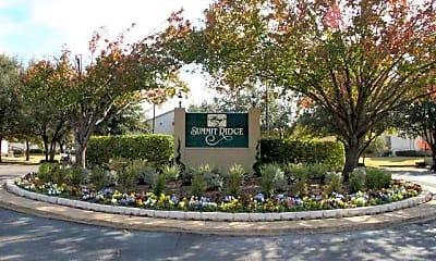 Community Signage, Summit Ridge Apartments, 0