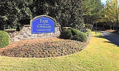 Community Signage, Park at Towne Lake, 2