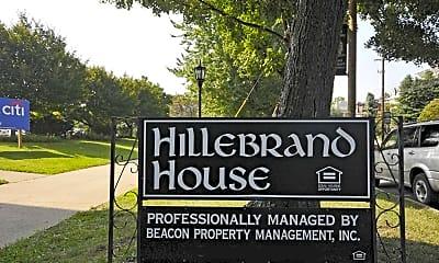 Community Signage, The Hillebrand House, 2