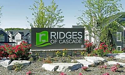 Community Signage, Ridges Of Cascade, 2