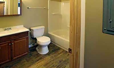 Bathroom, The Commons at Waters Edge, 2