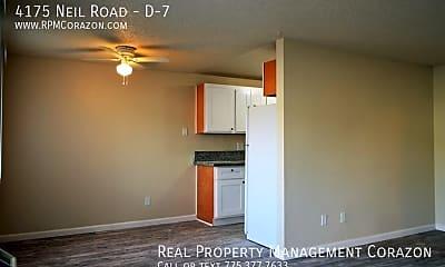 Living Room, 4175 Neil Road - D-7, 1