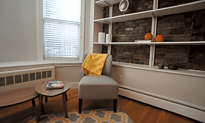Living Room, 65 Dartmouth St, 1