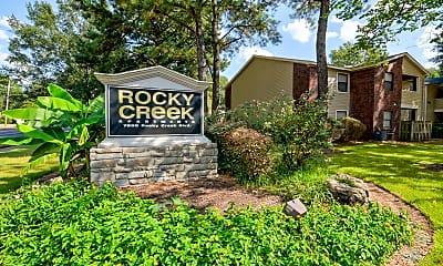 Community Signage, Rocky Creek, 2