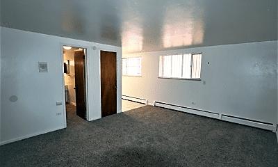 Living Room, 1443 Race St, 1