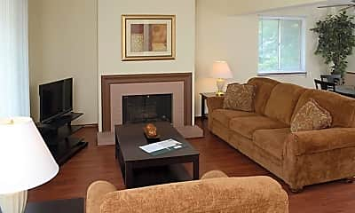 Living Room, Kingsway Apartments, 1