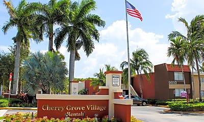 Community Signage, Cherry Grove Village, 1