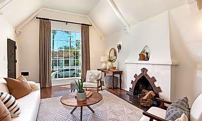 Living Room, 7709 Waring Avenue, 0