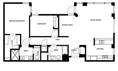 Bedroom, 235 Berry St, 2