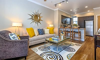 Living Room, Liberty Square at Providence Apartments, 0