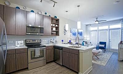 Kitchen, Link Apartments West End, 1