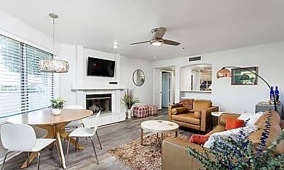 Living Room, 7777 E 2nd St 117, 1