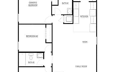 Building, 5924 Oakdale Dr, 1