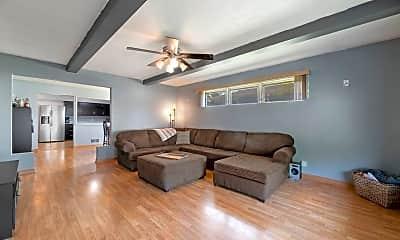 Living Room, 1306 Frederick St, 1