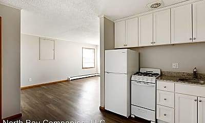 Kitchen, Richlyn Apartments - Affordable Studio Apartments, Great Location!, 2