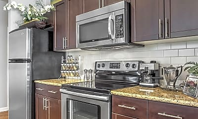 Kitchen, Wesley Village Apartments, 1