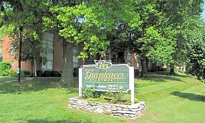 Community Signage, Greenleaves, 1