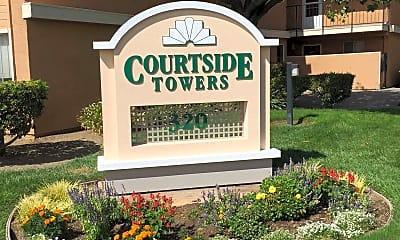 Community Signage, Courtside Towers 55+, 1
