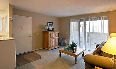 Living Room, Amberway Apartments, 1