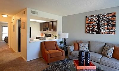 Living Room, Highland Point, 1