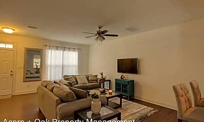 Living Room, 102 Harvest Oaks Ln, 1