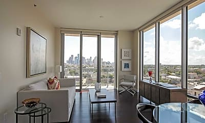 Living Room, The Sovereign at Regent Square, 1