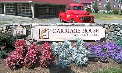 CARRIAGE HOUSE AT LEES FARM, 1
