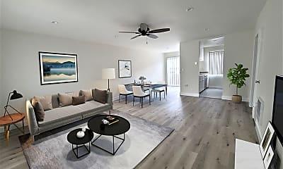 Living Room, 1436 Centinela Ave, 1