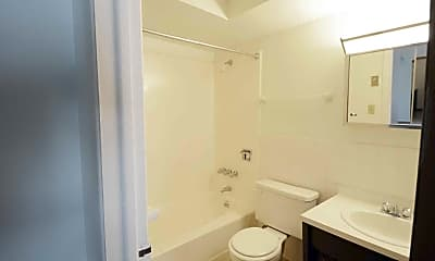 Bathroom, Newton Tower, 2