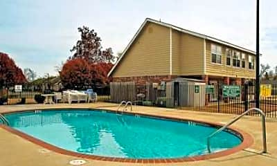 Pool, Remington Park Apartments, 1