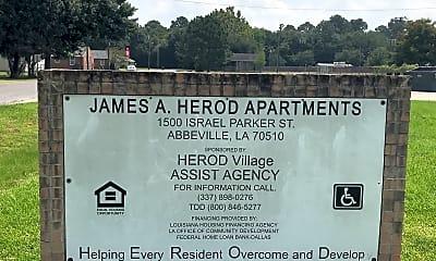 James A Herod Apartments, 1
