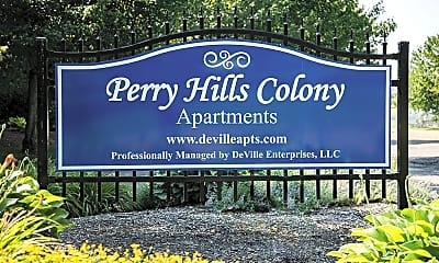 Community Signage, Perry Hills Colony Apartments, 0