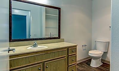 Bathroom, Villa Pacifica Senior Apartments, 2