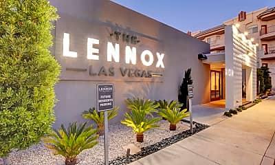 Community Signage, The Lennox, 2