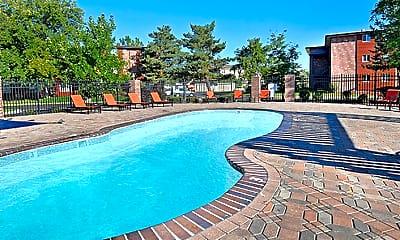 Pool, Ten49 Apartments, 1
