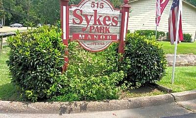 Sykes Park Manor, 1