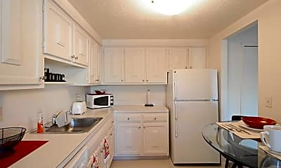 Kitchen, Southgate Towers, 0