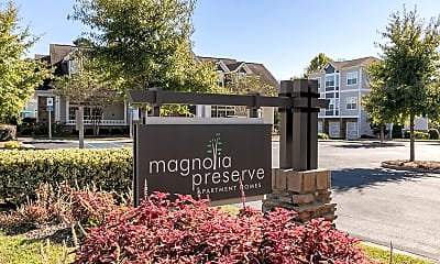 Community Signage, Magnolia Preserve, 2