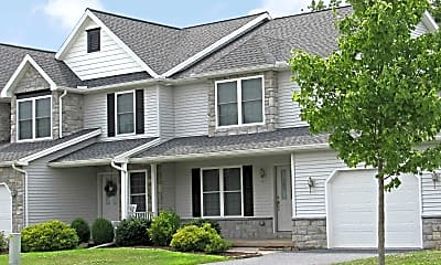 Building, Glenbrook Town Homes at Pleasant View, 0