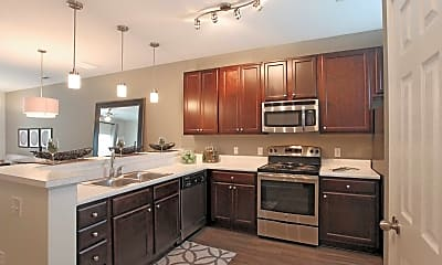 Kitchen, Loch Raven Pointe Apartments and Townhomes, 0