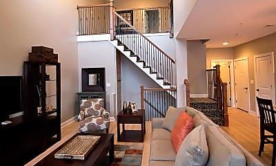 Living Room, The Lofts At Saratoga Blvd, 1