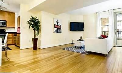 Living Room, 915 E St NW 714, 1