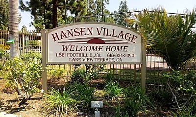 Hansen Village Apartments, 1