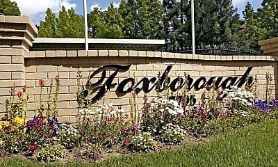 Community Signage, Foxborough, 2